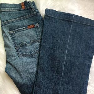 Women's 7 For All Mankind Ginger Flare Jeans  28